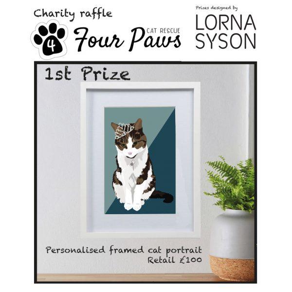 Prize Draw Entry - Pet Portrait