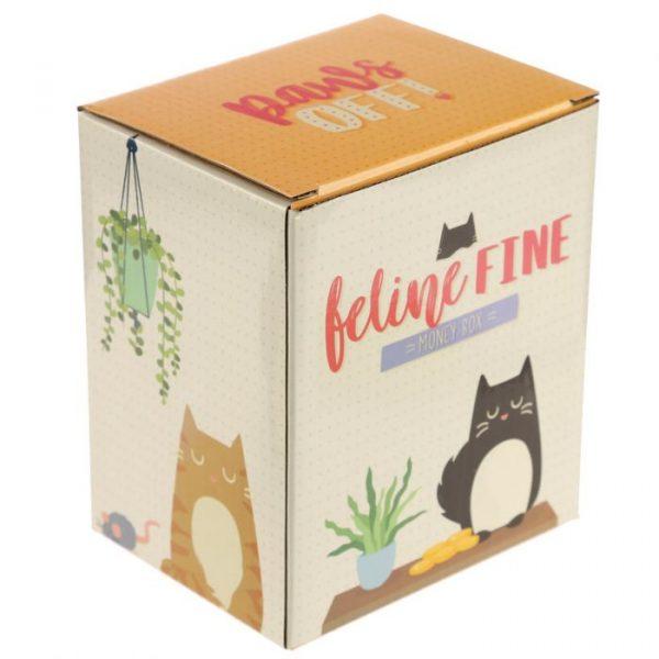 Feline Fine Money Box