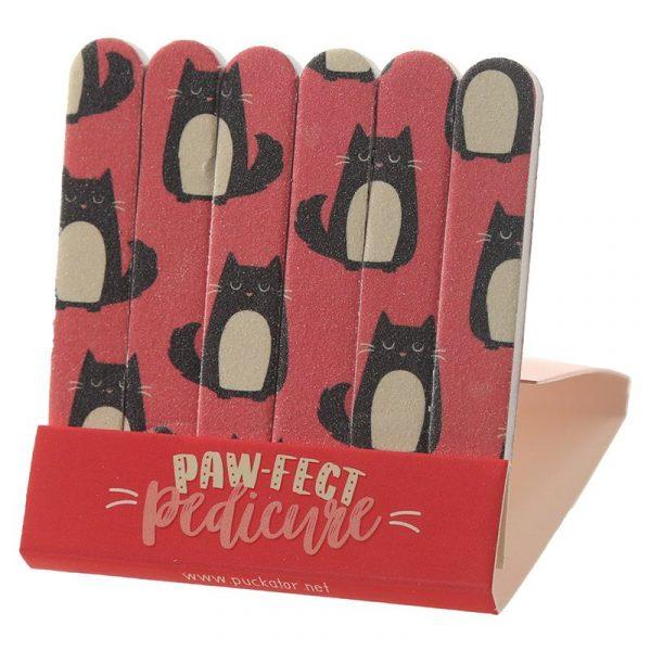 Feline Fine Cat Matchbook Nail File