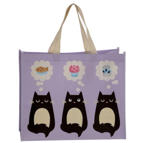 Feline Fine Cat Shopping Bag