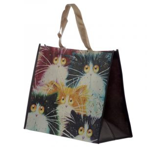 Kim Haskins Cats Shopping Bag