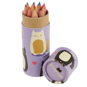 Feline Fine Pencil Pot with Pencils