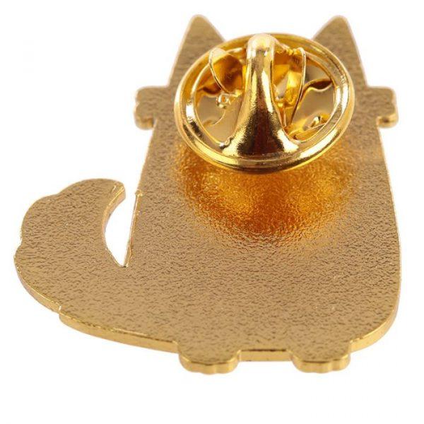 Feline Fine Cat Enamel Pin Badge
